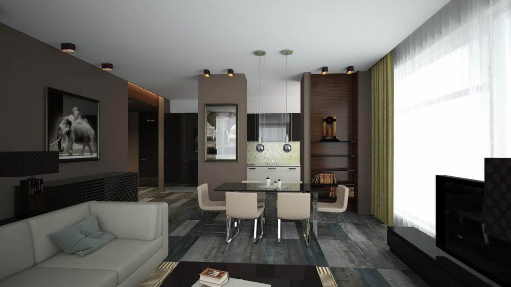 Дизайн интерьера квартиры на Петровском пр.
