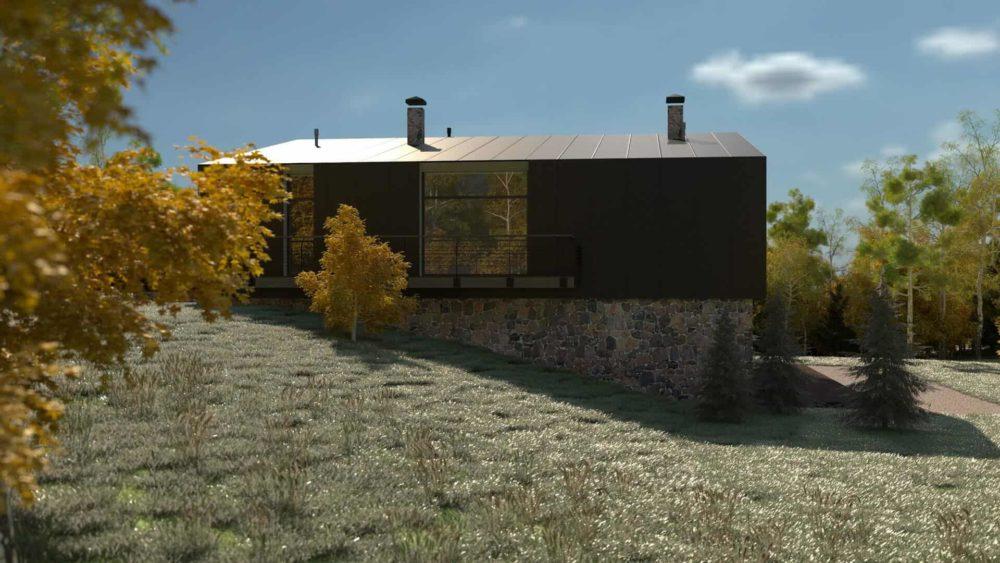 Загородного дома для одной семьи в посёлке Камешки.