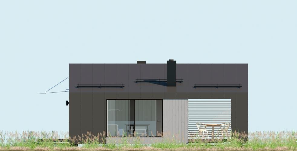 фасад модульного дома