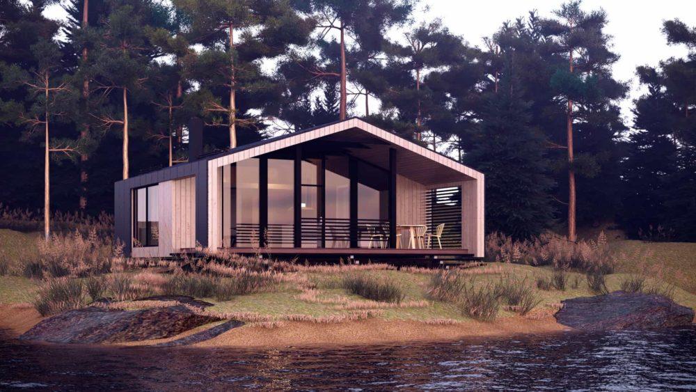 Модульный дом.