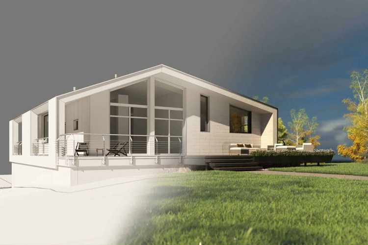 Архитектурное проектирование загородного дома