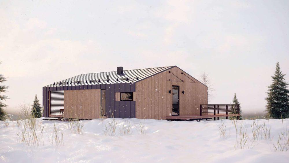 Архитектурный проект загородного дома в СПб
