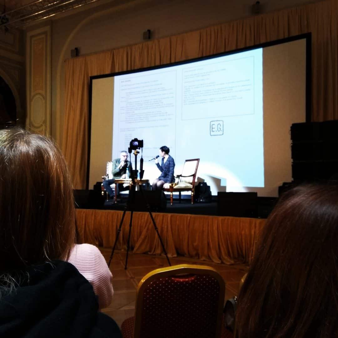 , 25.10.2019 в Питере выступление Эрик Жизар, известного французского дизайнера.