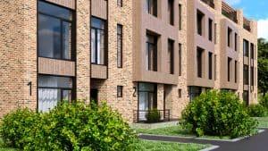 Разработка фасадных решений блокированного дома в Ленинградской обл.