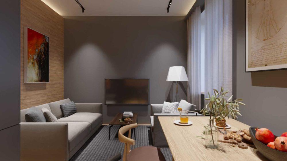 3 — living room