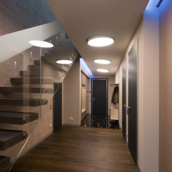 Дизайн интерьера прихожей квартиры.